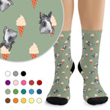 Custom Socks - Ice Cream
