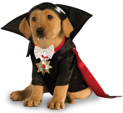 UNIVERSAL MONSTERS - Dracula Pet Costume-Pet Costume-1-Classic Horror Shop