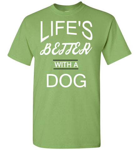 Life's Better With a Dog - Tail Threads