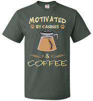Motivated by Canines & Coffee - Unisex