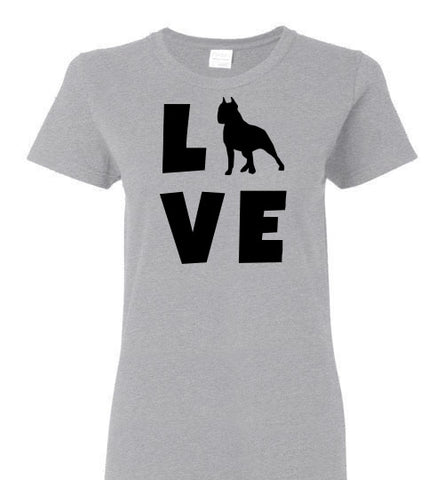 Pit Bull Love - Ladies Cut - Tail Threads