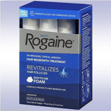 4 Month Supply Rogaine Foam 5% Minoxidil Men Hair Loss