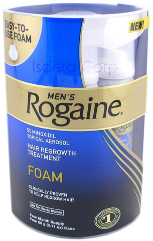 2 Month Supply Rogaine Foam 5% Minoxidil Men Hair Loss