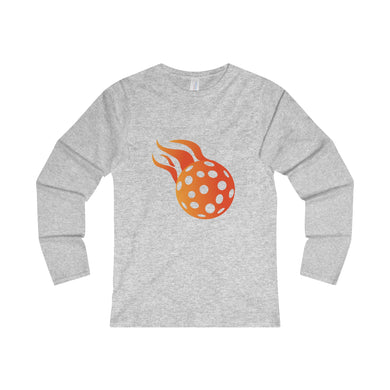 Ladies' Long Sleeve Cotton Pickleball Tee