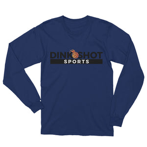 Long Sleeve Cotton Dink Shot Sports T-Shirt