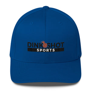 Dink Shot Sports FlexFit Structured Twill Cap