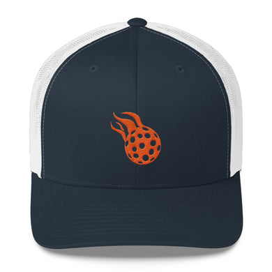 Pickleball Logo Trucker Cap