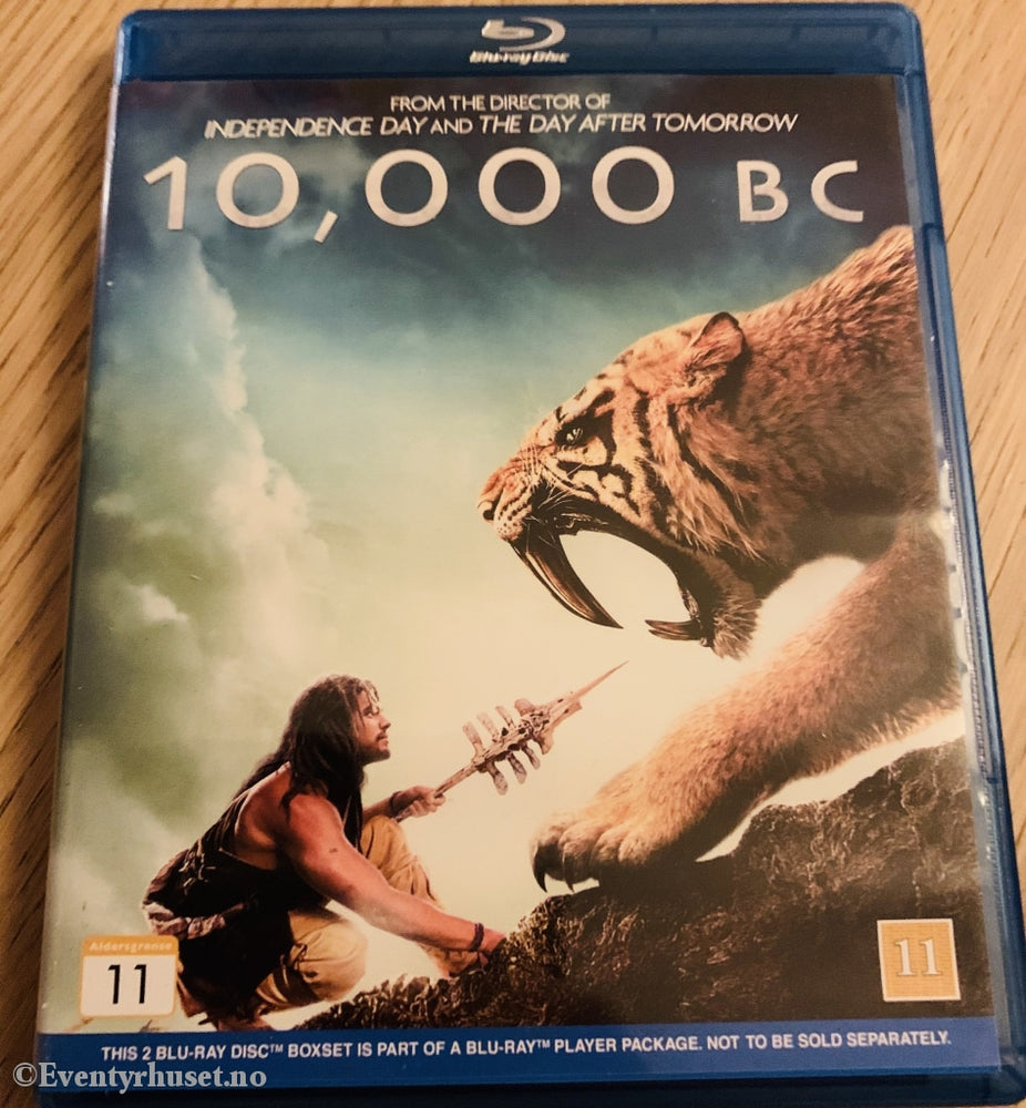 10.000 Bc / The Bucket List. Blu-Ray. Blu-Ray Disc
