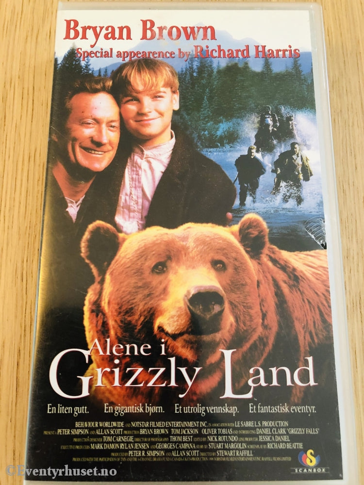 Alene I Grizzly Land. 1999. Vhs. Vhs