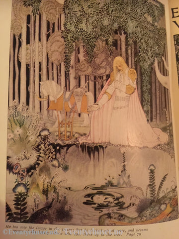 Asbjørnsen Og Moe. 1930. East Of The Sun And West Moon. Illustrert Av Kay Nielsen. Eventyrbok