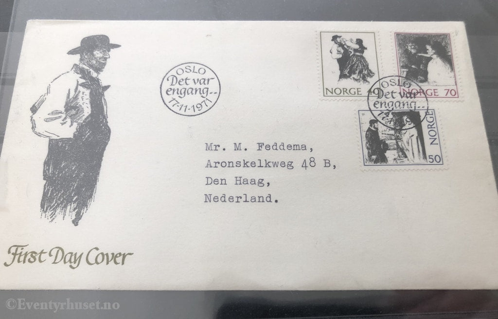 Asbjørnsen Og Moe. First Day Cover. 17.11.1971. Cover