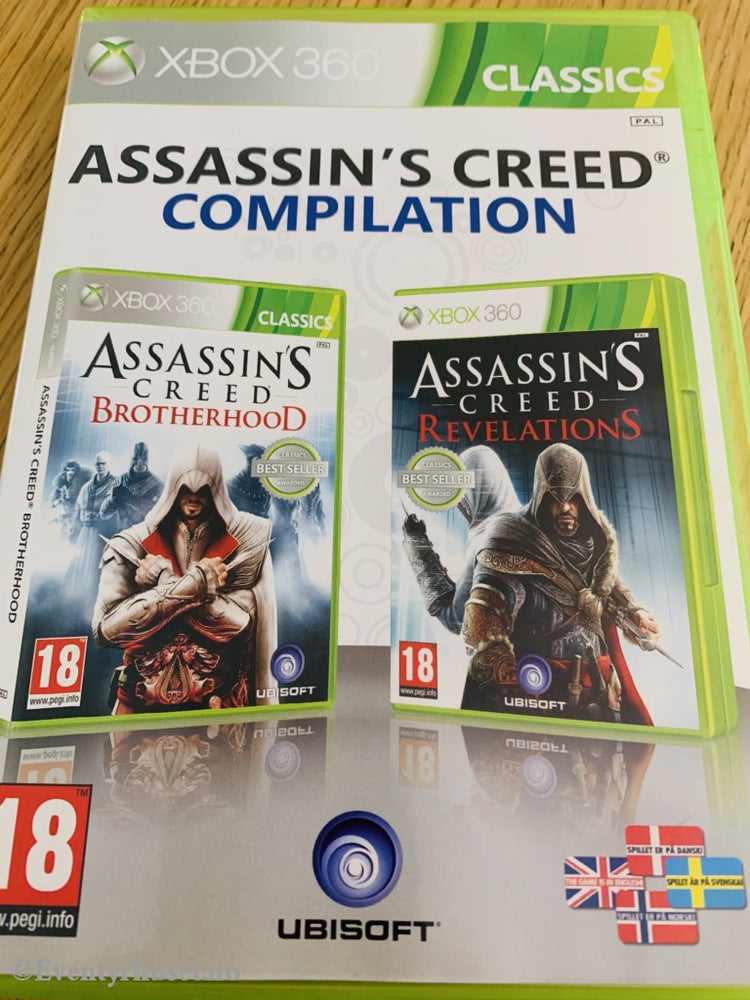 Assasins Creed Compilation. Xbox 360. Xbox