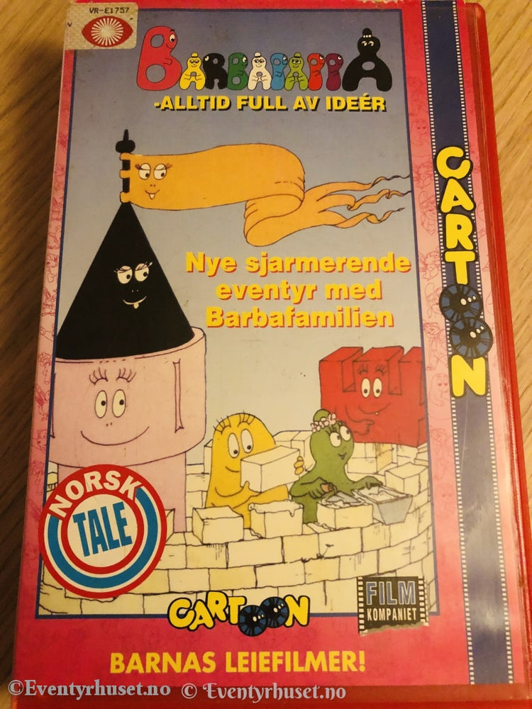 Barbapappa - Alltid Full Av Ideer. Vhs Big Box.