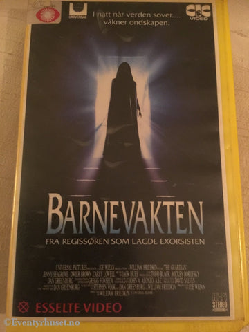 Barnevakten. Vhs Big Box.