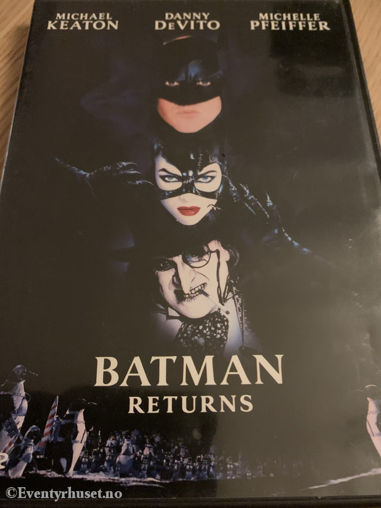Batman Returns. 1992. Svensk Tekstet. Dvd. Dvd