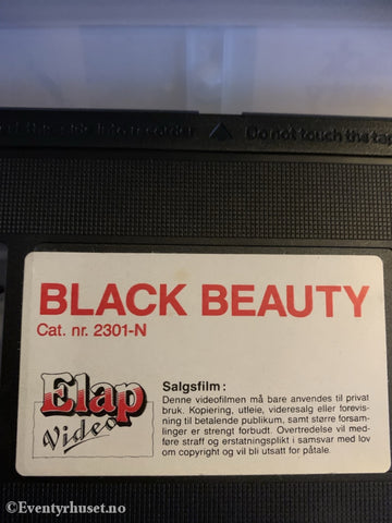 Black Beauty. Vhs. Vhs
