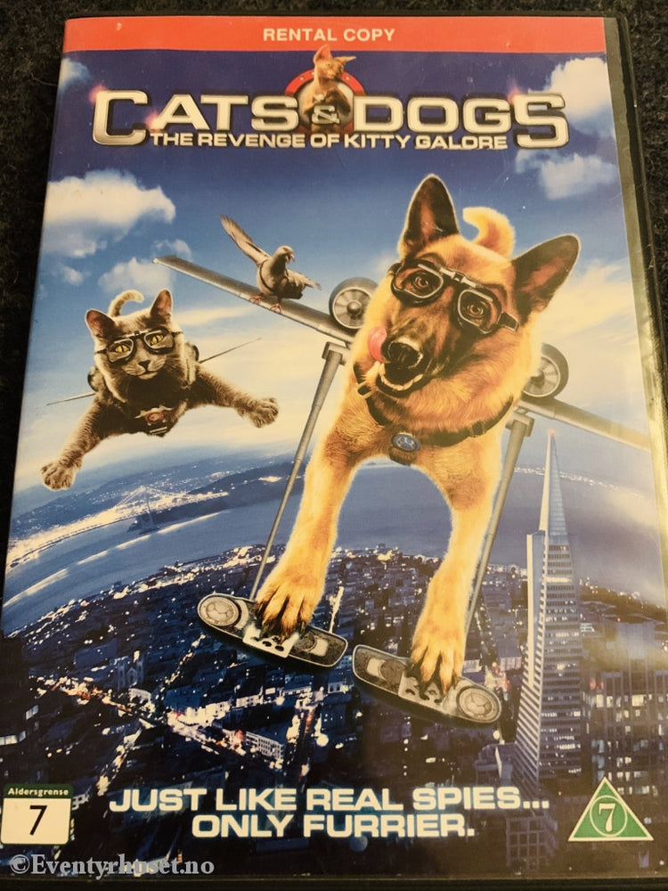 Cats & Dogs - The Revenge Of Kitty Galore. Dvd. Dvd