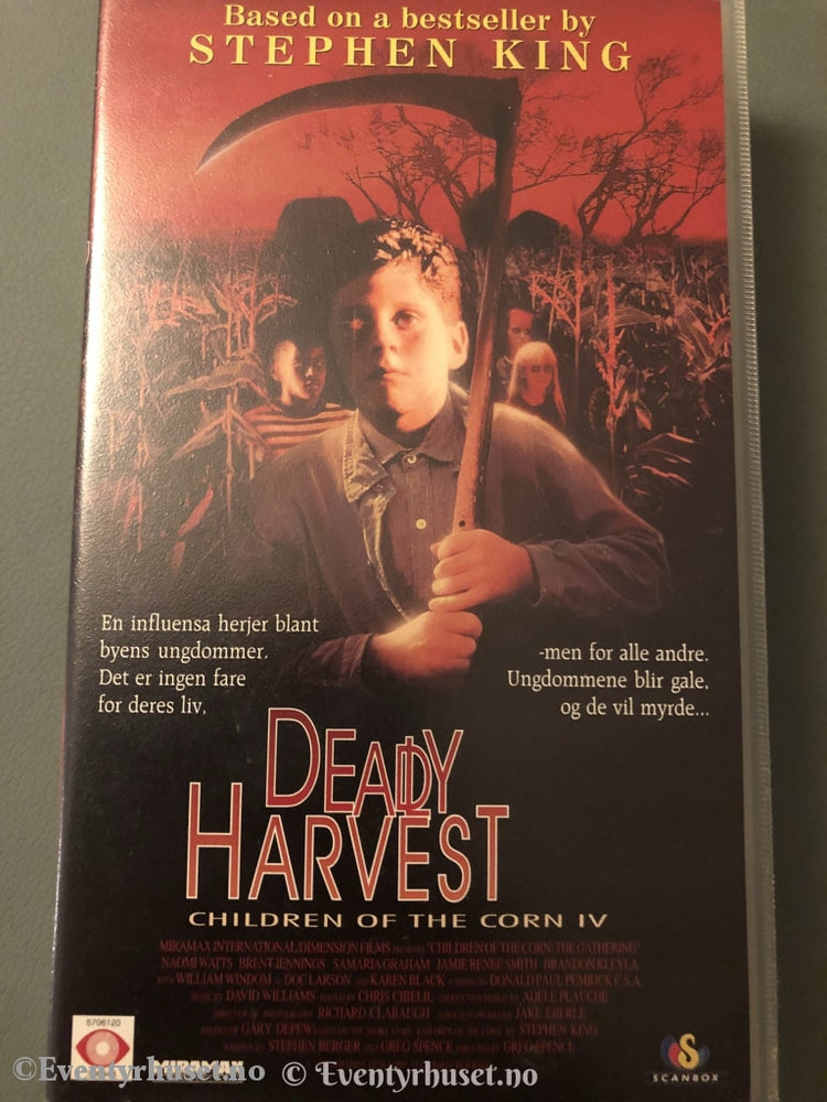 Children Of The Corn 4. Deadly Harvest. 1995. Vhs. Vhs