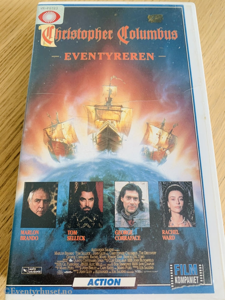 Christopher Columbus - Eventyreren. 1992. Vhs. Vhs
