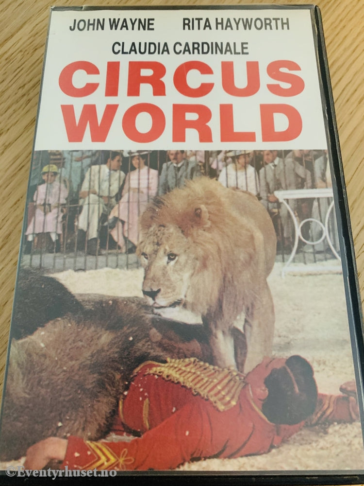 Circus World. 1964. Vhs Big Box.