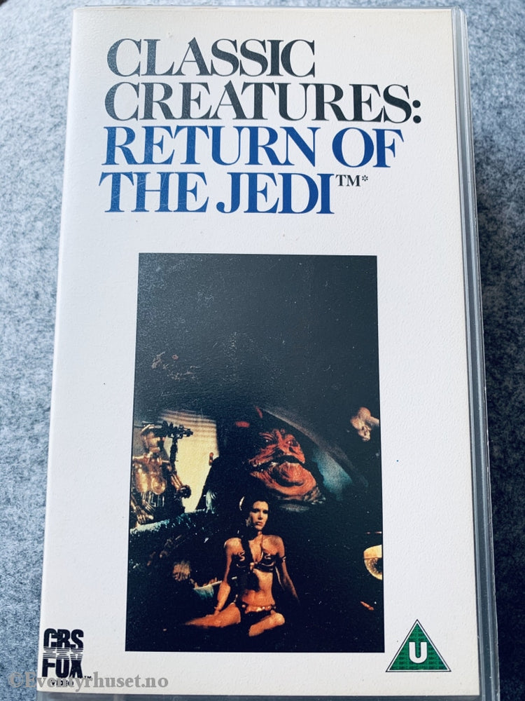 Classic Creatures: Return Of The Jedi. 1983. Vhs Solgt I Norge (Star Wars).
