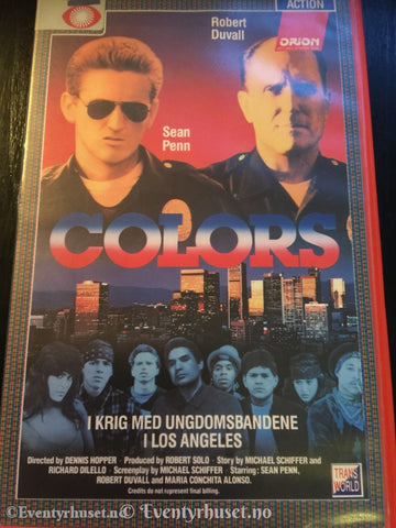 Colors. Vhs Big Box.