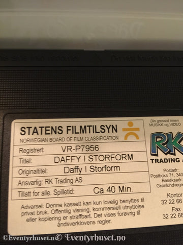 Daffy & Co I Storform. Vhs