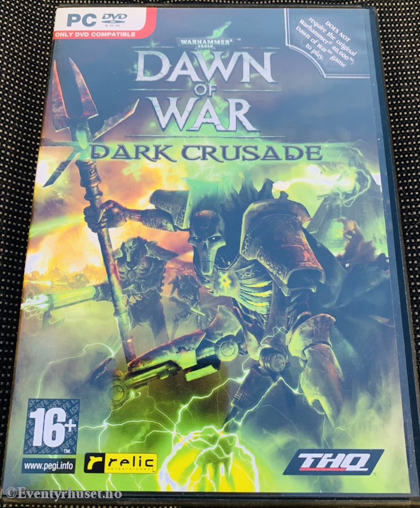 Dawn Of War - Dark Crusade (Warhammer). Pc-Spill. Pc Spill