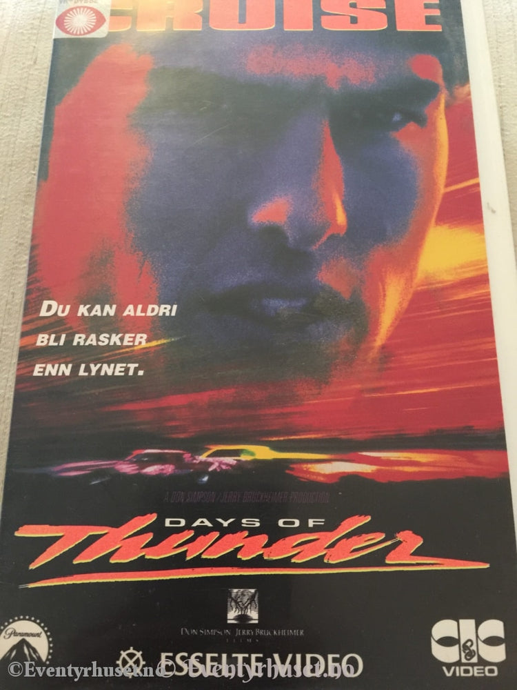 Days Of Thunder. Vhs Big Box.