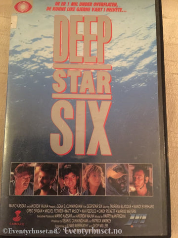 Deep Star Six. Vhs Big Box.