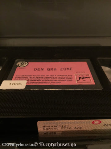 Den Grå Zone. Vhs Big Box.