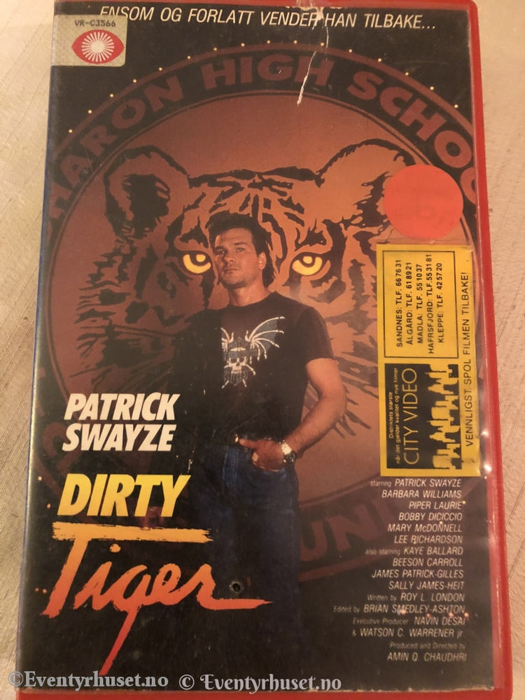 Dirty Tiger. Vhs Big Box.