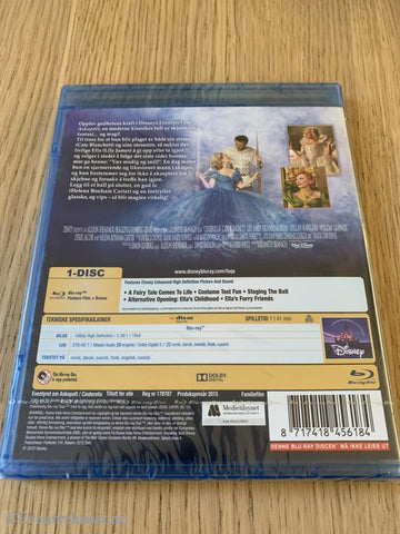 Disney Blu-Ray. Askepott. Ny I Plast! Blu-Ray Disc