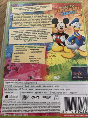 Disney Dvd. En God Latter! Vol. 3. 2010. Dvd
