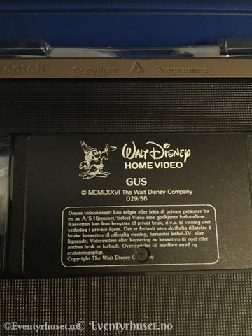Disney Vhs Big Box. Gus.
