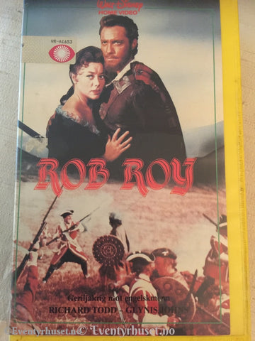 Disney Vhs Big Box. Rob Roy.