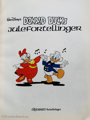 Disneys Donald Ducks Julefortellinger. 1986. Tegneseriealbum