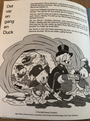 Disneys Ducktales. Klistremerkealbum. Klistremerkealbum