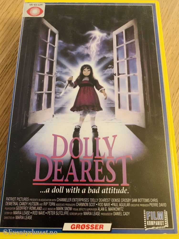 Dolly Dearest. 1991. Vhs Big Box.
