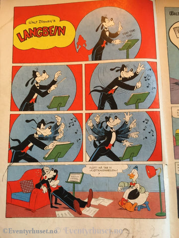 Donald Duck & Co. 1957/21. Fair. Tegneserieblad