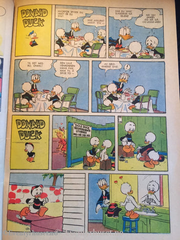 Donald Duck & Co. 1958/05. Vg. Tegneserieblad