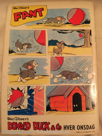 Donald Duck & Co. 1959/06. Vg. Tegneserieblad