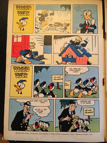 Donald Duck & Co. 1959/35. Fair. Tegneserieblad