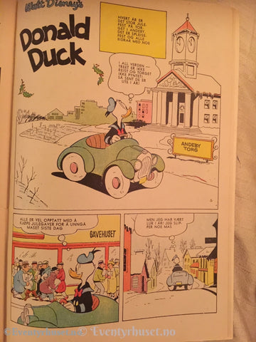 Donald Duck & Co. 1959/50. Vg Tegneserieblad