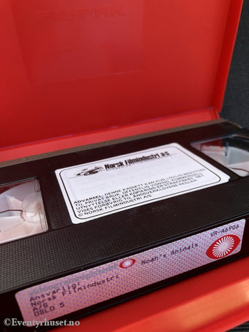 Dyrene I Arken - Del 2. Vhs Big Box.