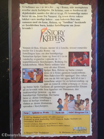 Flukten (Story Keepers). 1997. Vhs. Vhs