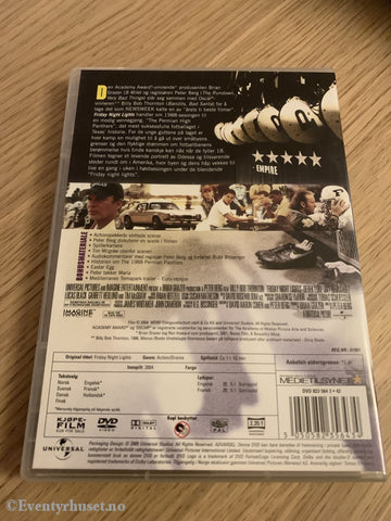 Friday Night Lights. 2004. Dvd. Dvd