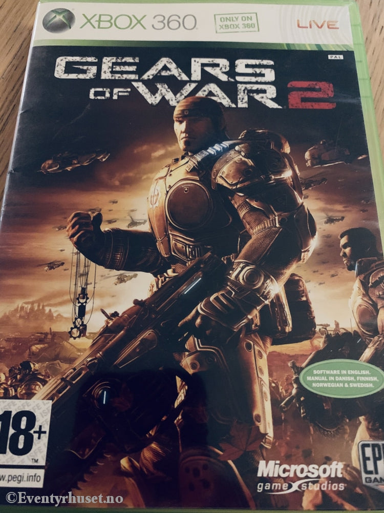 Gears Of War 2. Xbox 360.