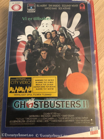 Ghostbusters 2. 1989. Vhs Big Box.
