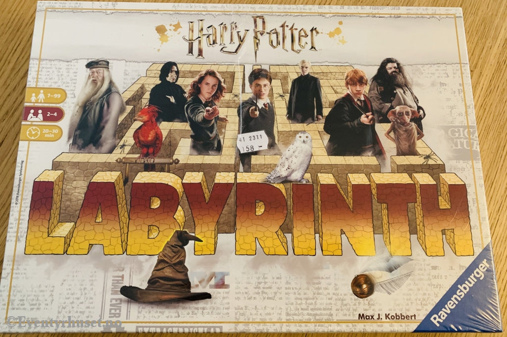 Harry Potter Labyrinth. Brettspill Ny I Plast!